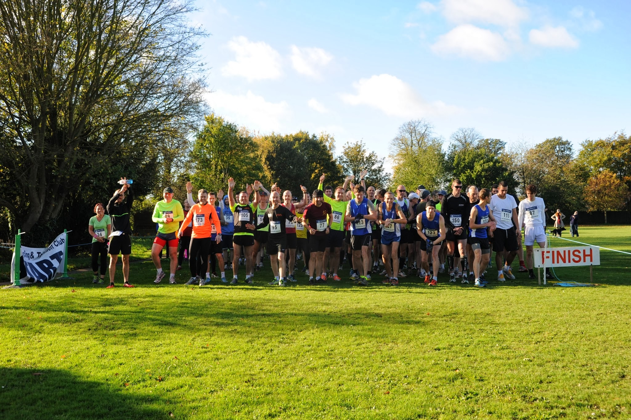 Start of the 2013 Half Marathon